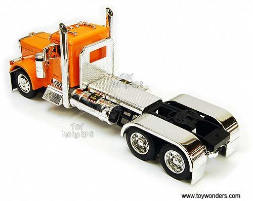 Revell Peterbilt 359 (First Build) - Under Glass: Big Rigs ...  Peterbilt Model Car