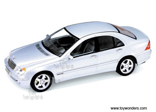 Mercedes benz c class hard top by welly 1 24 scale diecast for Mercedes benz toy cars