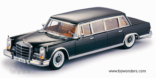 1966 mercedes benz 600 limousine by sun star 1 18 scale for Sun motor cars mercedes benz