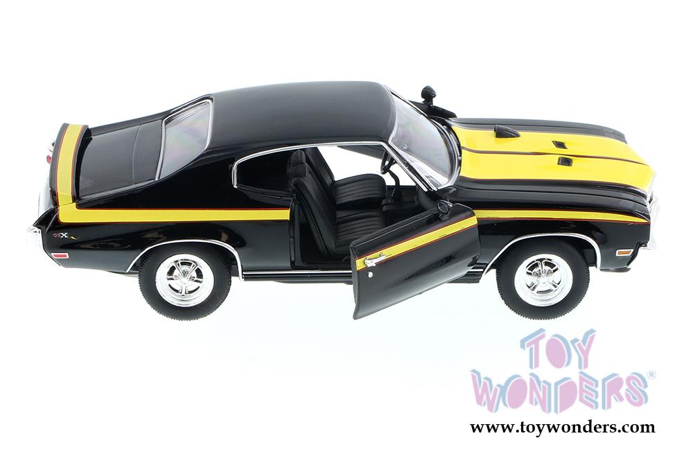 Buick Gsx 1970 Yellow Black 1:24 Model 4249YBK WELLY