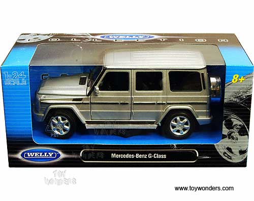 Mercedes Benz G Class Suv By Welly 1 24 Scale Diecast
