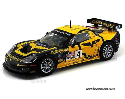 Chevy Corvette C6r Race Car 4 28003 1 24 Scale Bburago
