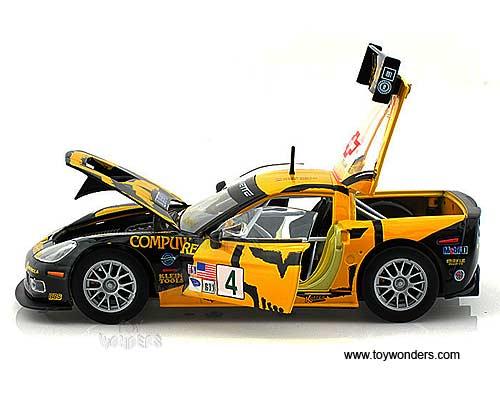 chevy corvette c6r 4 racing 124 yellowblack car interior design. Black Bedroom Furniture Sets. Home Design Ideas