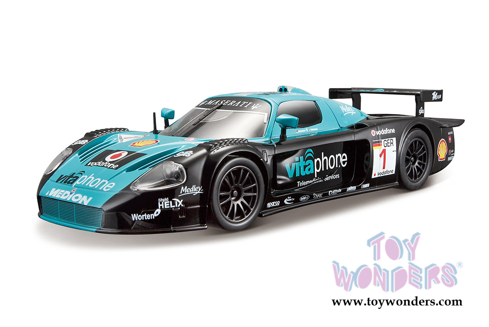 maserati mc12 race car 1 28004bu 1 24 scale bburago. Black Bedroom Furniture Sets. Home Design Ideas