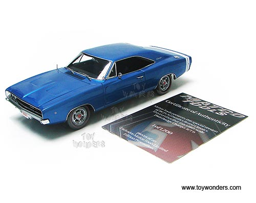 Matco Tools Authentics Dodge Charger R T Hard Top 1968 1 18