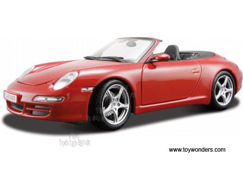 Maisto Special Edition - Porsche 911 Carrera Cabriolet Convertible (1:18,