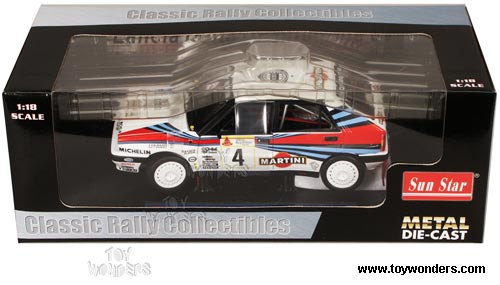 Sun Star Classic Rally - Lancia Delta HF Integrale 8V Race Car M. Biasion/