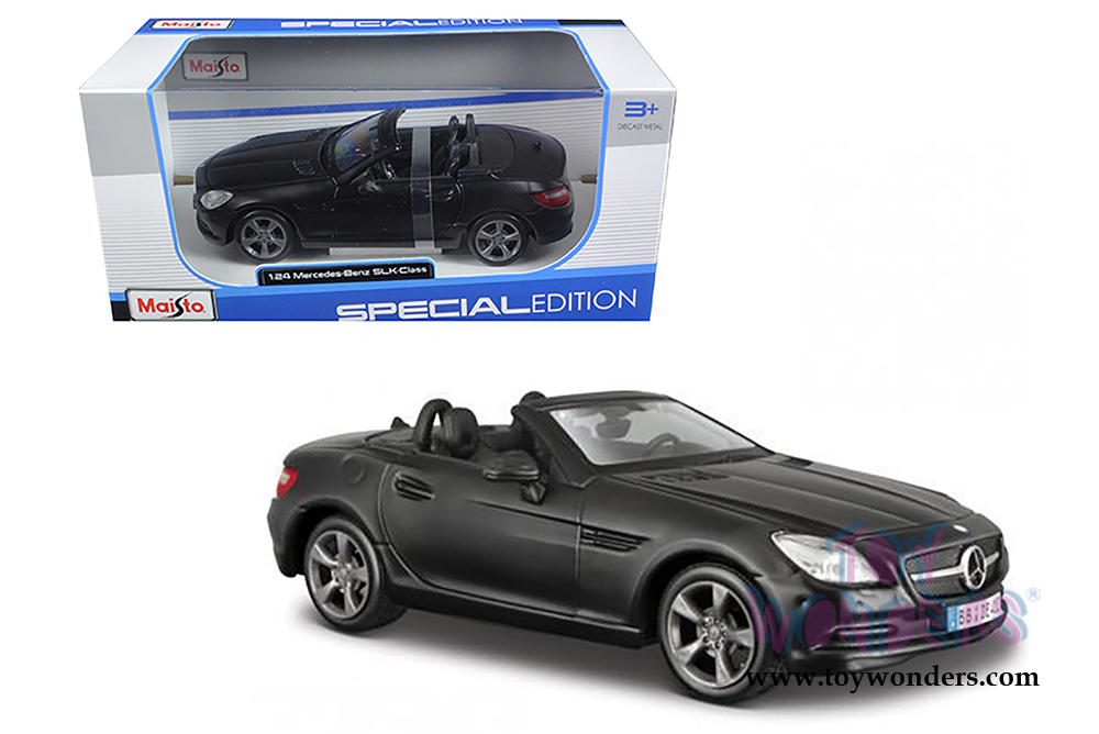 2011 mercedes benz slk convertible 31206mk 1 24 scale for Mercedes benz scale model cars