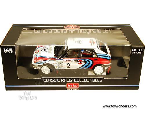 Lancia Delta Rally Car. Rally - Lancia Delta HF