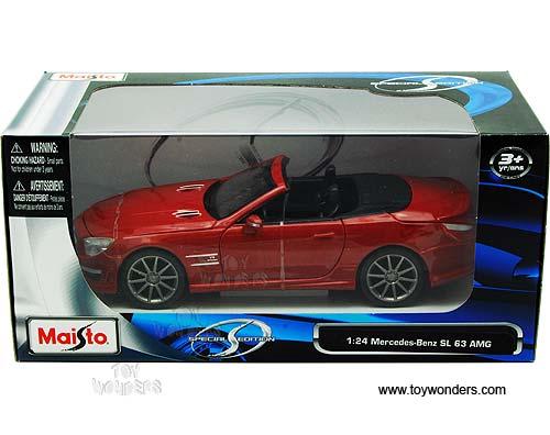 Mercedes Benz Sl 63 Amg Convertible 31503r 1 24 Scale