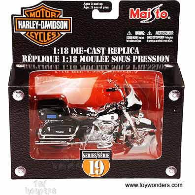Harley Davidson Motorcycles Toy Diecast Cars Series 19 By Maisto 1