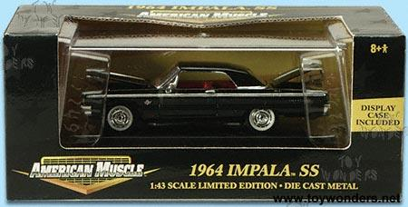 1964 Chevy Impala Ss By 1 43 Scale Diecast Model Car