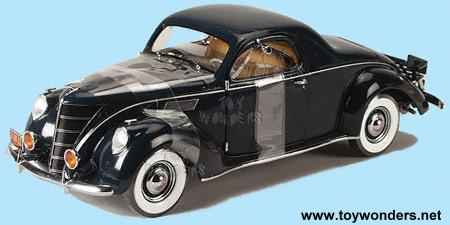 1937 Lincoln Zephyr By Rc2 Ertl Precision 100 1 18 Scale Diecast