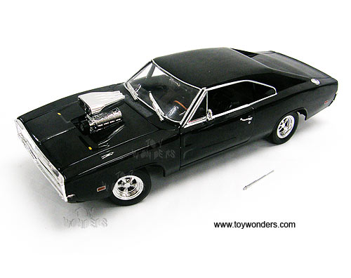"ERTL JoyRide - ""The Fast And The Furious"" Dodge Charger Hard Top (1970,"