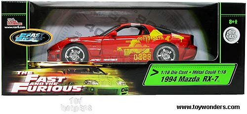 1993 mazda rx7 fast and furious. ertl 1993 mazda rx7 fast and furious