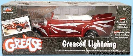 greased lightning by ertl joyride 1 18 scale diecast model car wholesale 33544. Black Bedroom Furniture Sets. Home Design Ideas