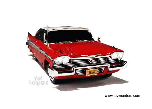 Plymouth Fury Christine Hard Top By Rc Ertl Joyride   Scale Cast Model Car Wholesale
