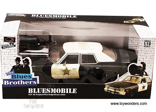 558719ff 1974 Blues Brothers Police Car by RC2 ERTL JoyRide 1/18 scale ...