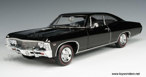 Chevy Impala SS427 (1967, 1:18, Black) 33931