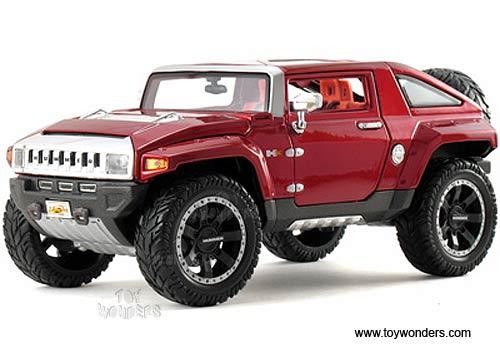 Maisto - Hummer HX Concept (2008, 1:18, Red) 36171