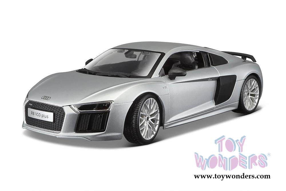 1//36 Scale Diecast Model Toy Car but NO Box Kinsmart 5315D Audi R8 Gray