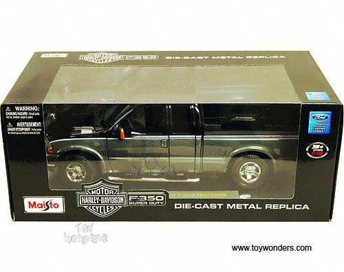 2004 Ford F-350 Harley Davidson Super Duty Pickup Truck 36690GY 1/18 scale Maisto wholesale ...