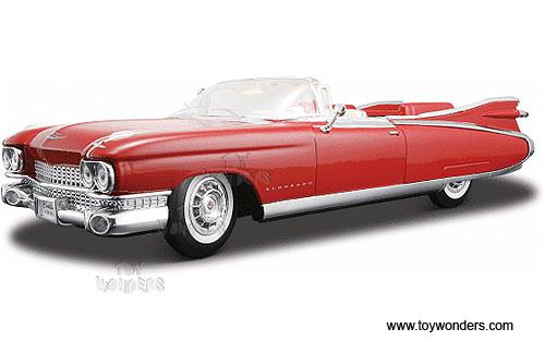Maisto 1//18 1959 Cadillac Eldorado Biarritz Diecast Car Model Red