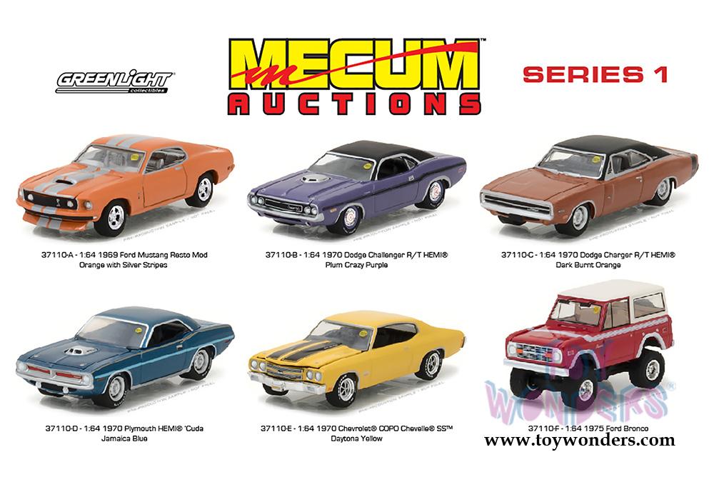 1970 DODGE HEMI CHALLENGER R//T GREENLIGHT 37110//48 1//64 DIECAST CAR