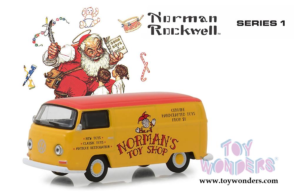 Greenlight NORMAN ROCKWELL Series 1 1977 Dodge Van Percevel Bakery
