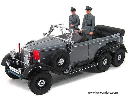 1938 mercedes benz g4 convertible w figure 38202bk 1 18 for Miniature mercedes benz models