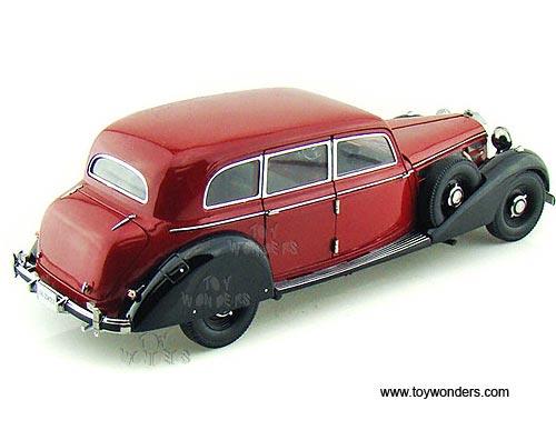 1938 mercedes benz 770k w figures 38203bg 1 18 scale for Miniature mercedes benz models