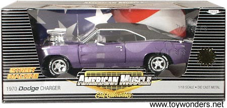 RC2 ERTL - Dodge Charger (1970, 1:18, Purple) 39004