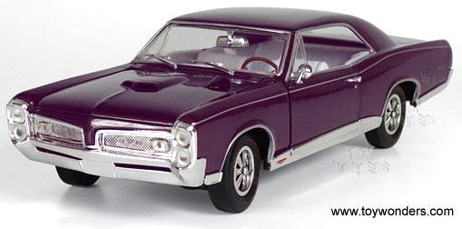 ERLT 39296 1967 Pontiac GTO Diecast Model Car
