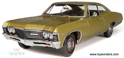 ERLT 39392 1967 Chevrolet Impala SS396 Diecast Model Collection Car
