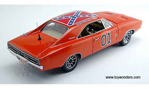 ERTL Authentics - The Dukes of Hazzard General Lee Dodge Charger (1969, 1:18, Orange) 39505