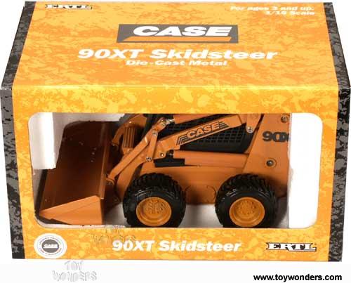 Diecast Collector Model Cars Ertl 90xt Skidsteer 1 16
