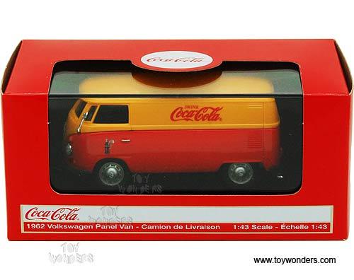 1962 volkswagen panel van 434481 1 43 scale motor city for Orange city motors inc