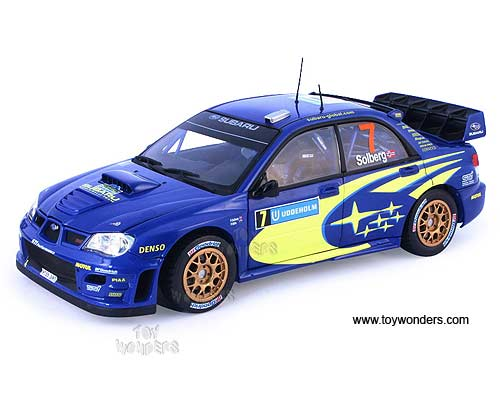Diecast Collectibles Sun Star Modern Rally Subaru Impreza Wrc