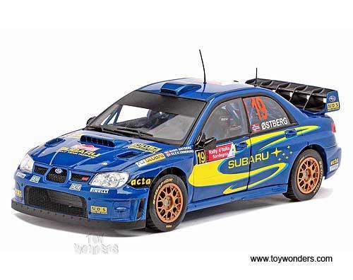 Diecast Collector Model Cars Sun Star Modern Rally Subaru