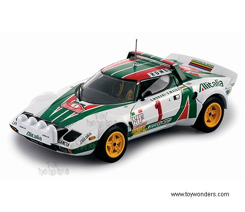 Diecast Collectibles Sun Star Classic Rally Lancia Stratos Race