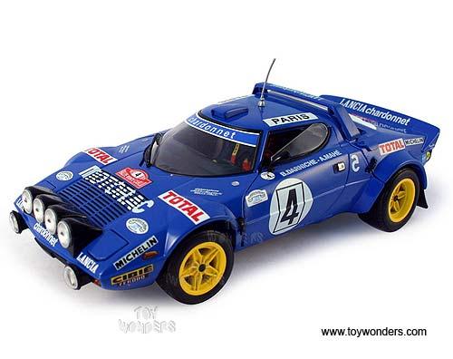 Classic Lancia Rally Car