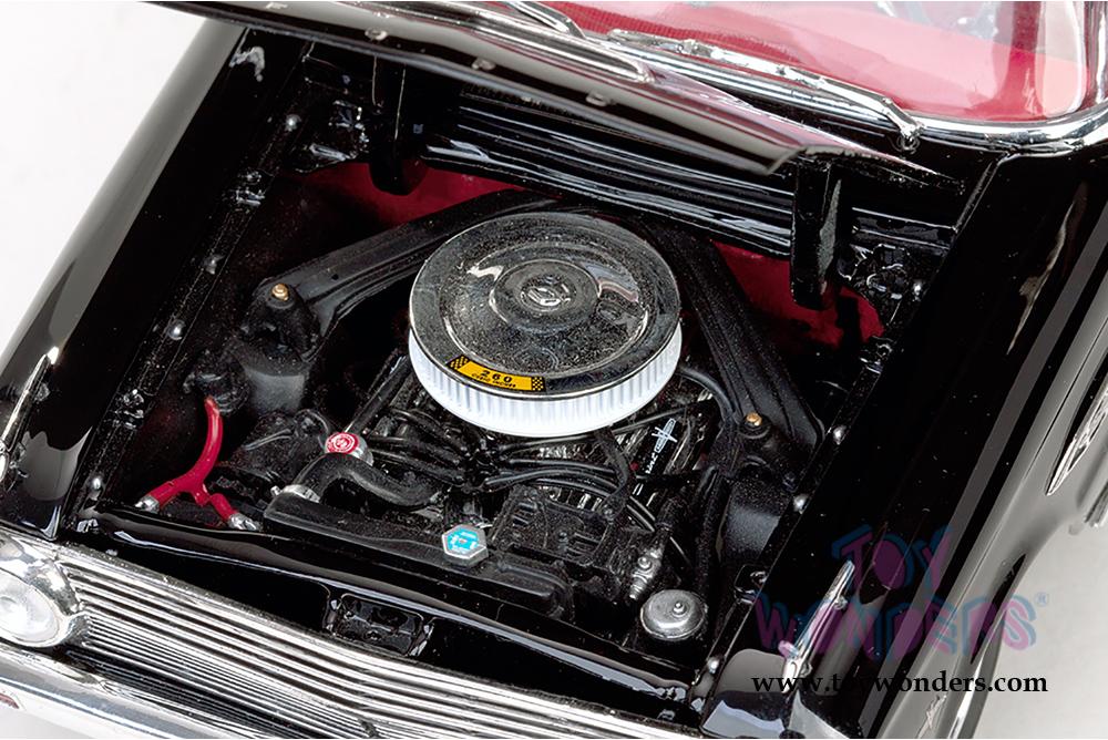 Sun Star USA - Ford Falcon Open Convertible (1963, 1/18 scale diecast model  car, Raven Black) 4533BK