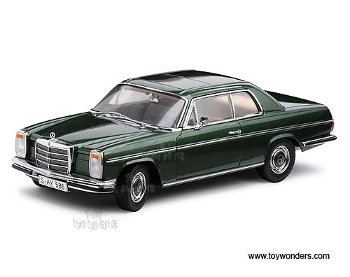 mercedes benz strich 8 280c coupe hard top w sunroof by sun star platinum 1 18 scale diecast. Black Bedroom Furniture Sets. Home Design Ideas