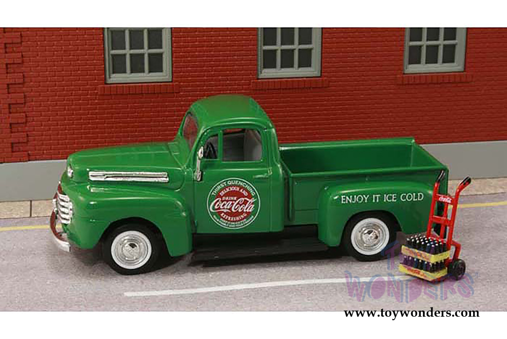 Motor City Coca Cola Ford F1 Pick Up 1 43 Scale Diecast