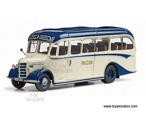 Sun Star - Bedford OB Duple Vista Coach Bus (1949, 1:24, Royal Blue) 5008BU