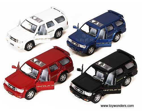 Diecast Toyota 4runner >> toyota 4 Runner SUV by Kinsmart 1/36 scale diecast model car wholesale 5049D