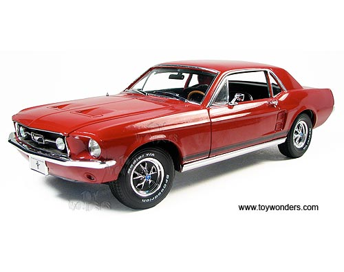greenlight ford mustang - Red 1967 Ford Mustang Coupe