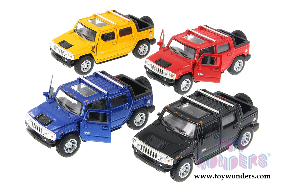 Kinsmart Hummer H2 Sut Pickup 2005 1 40 Scale Cast Model