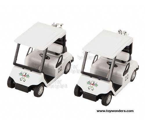 Diecast Collector Model Cars Kinsmart - Golf Cart (4.5