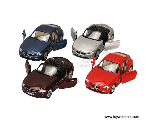 Bmw Z4 Hardtop: BMW Z4 Coupe Hard Top And Convertible (1:32